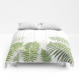 Fern Leaves Comforters