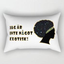 Jäg är inte något exotisk! Rectangular Pillow