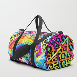 1997 Neon Rainbow Spirit Board Duffle Bag