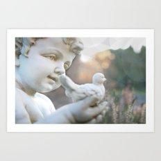 A Angel is Hope Art Print