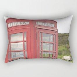 Phone box on the Isle of Skye Rectangular Pillow