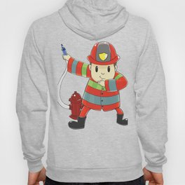 Funny dabbing firefighter design - perfect gift Hoody