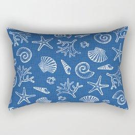 Lovely life on beach Rectangular Pillow