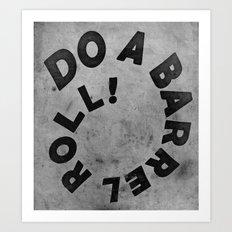 STARFOX - DO A BARREL ROLL! Art Print