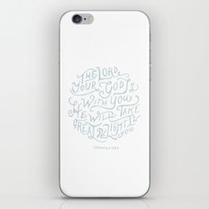 32/52: Zephaniah 3:17a  iPhone & iPod Skin