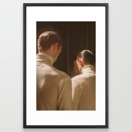 Turtle Necks Framed Art Print