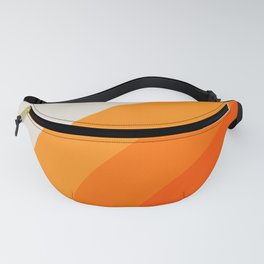 Creamsicle Bow Fanny Pack