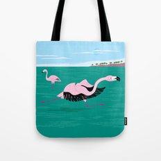 Go Flamingo Go Tote Bag