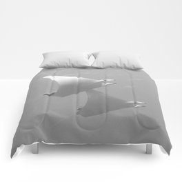 Rising with the mobula rays Comforters