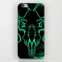 bull iPhone & iPod Skins featuring Bull by Littlefox