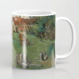 Milking cows in Belgium (around 1960)  Coffee Mug