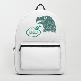 Well This is Hawkward Backpack