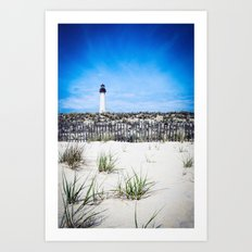 Cape May Point Lighthouse Art Print