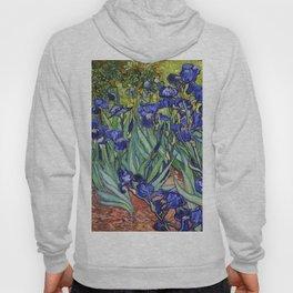Irises by Vincent van Gogh Hoody