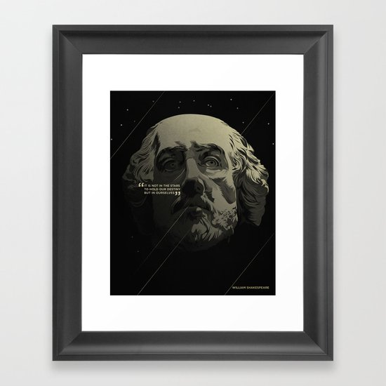 Shakespeare / Destiny Framed Art Print