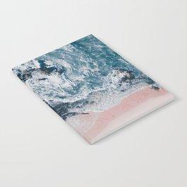 I love the sea - written on the beach Notebook