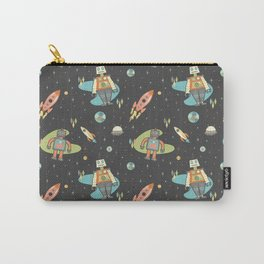 Robots in Space Carry-All Pouch