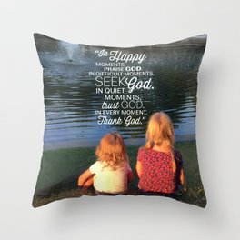 Thank God Throw Pillow