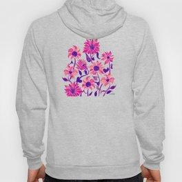 Sunflower Watercolor – Pink & Purple Palette Hoody