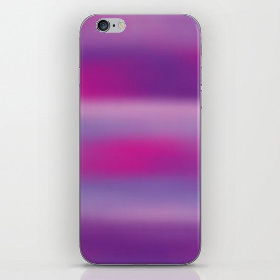 Purple Mist. iPhone & iPod Skin