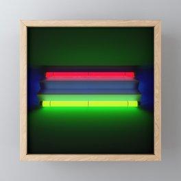 Neon Room Part 2 Framed Mini Art Print