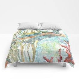 Underwater Fantasy Sea Turtle Comforters