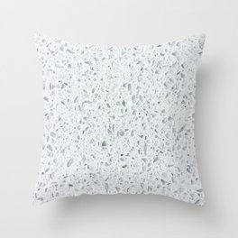 Diamond Beach Sand Throw Pillow