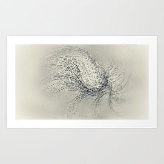 Wail Art Print