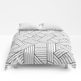 Infatuation #pattern #minimal Comforters