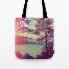 French Beach Tote Bag