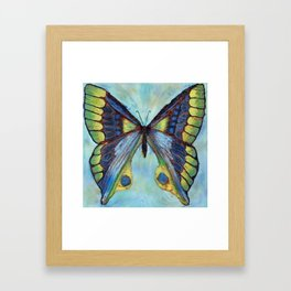 Patina Butterfly Framed Art Print