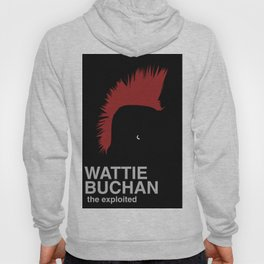 minimal The Exploited Wattie Buchan Hoody