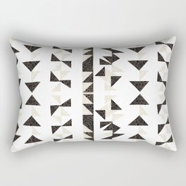 Origami Triangles Rectangular Pillow