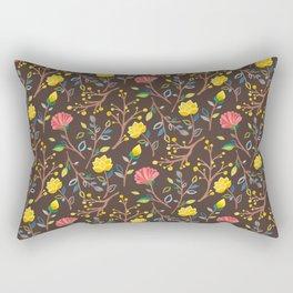Korean Jogakbo (Patchwork) Print Rectangular Pillow