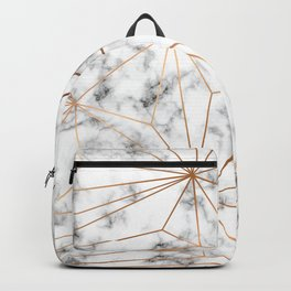 Marble & Gold 046 Backpack