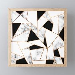 Marble III 003 Framed Mini Art Print