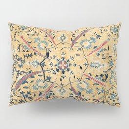 Kermina  Suzani  Antique Uzbekistan Embroidery Print Pillow Sham