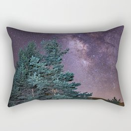 Milkyway at the mountains. Saggitarius and Rho Ophiuchus Rectangular Pillow