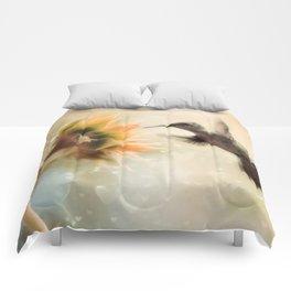 Like a Moth To a Flame Comforters