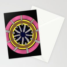 radial blame III Stationery Cards