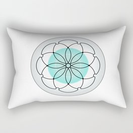 Sacred Geometry 2 Rectangular Pillow
