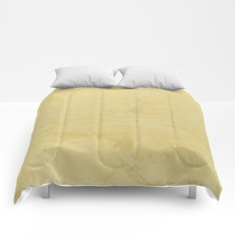 Tuscan Sun Stucco - Faux Finishes - Yellow Venetian Plaster Comforters