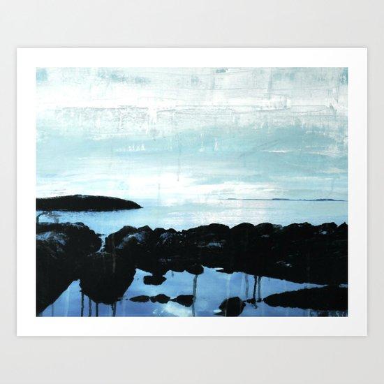 The ocean and me Art Print