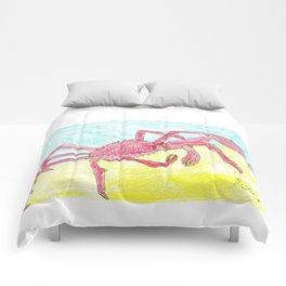 Giant Japanese Spider Crab Comforters