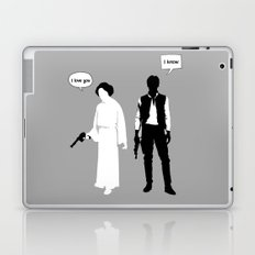 I Love You. I Know Laptop & iPad Skin