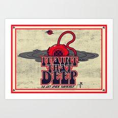 It Ain't That Deep (distressed) Art Print