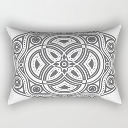 The All Seeing Eye Mandala Rectangular Pillow
