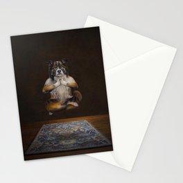 Meditating Dog Stationery Cards