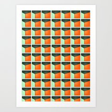 Pattern Series 201 Art Print