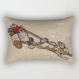 The Nut Express Rectangular Pillow